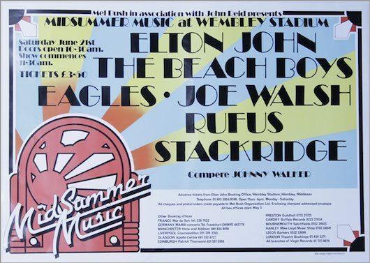 Beach Boys Triumph At Elton John's Wembley Extravaganza