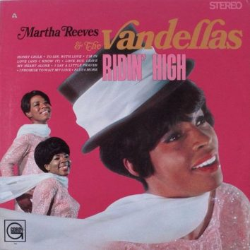 Martha Reeves Vandellas Ridin High album