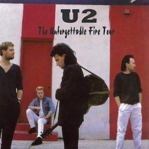 U2 Unforgettable Fire tour