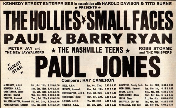 661000 Hollies package tour