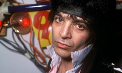 Alan Vega photo by Peter Noble and Redferns