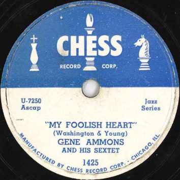 Gene Ammons And His Sextet My Foolish Heart