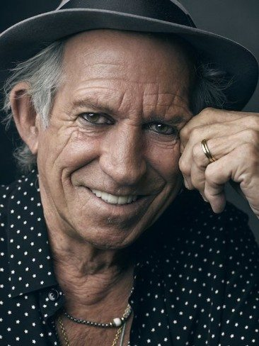 Keith Richards Has A 'Crosseyed Heart'