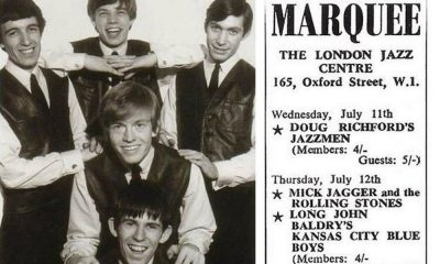 Rolling Stones First Gig London Marquee Jazz Club