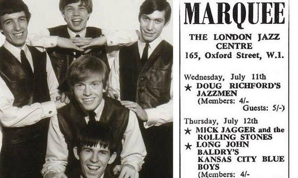 The Rolling Stones Play Their First Ever Gig