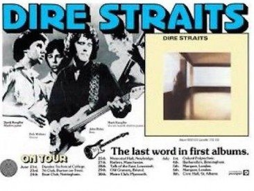 The Modest UK Chart Debut Of Dire Straits