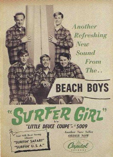 Beach Boys Ride Hot 100 With 'Surfer Girl'