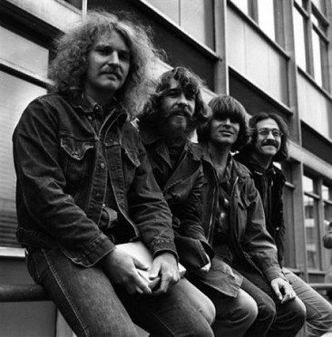 Creedence Clearwater Revival Take Europe