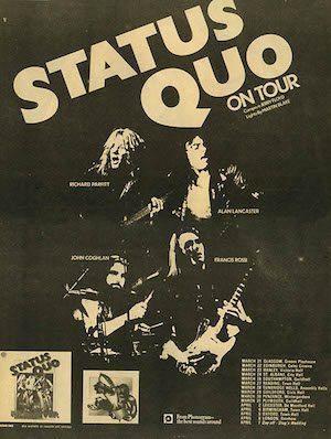 Quo 73 tour