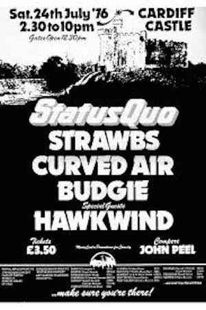 Quo Cardiff poster