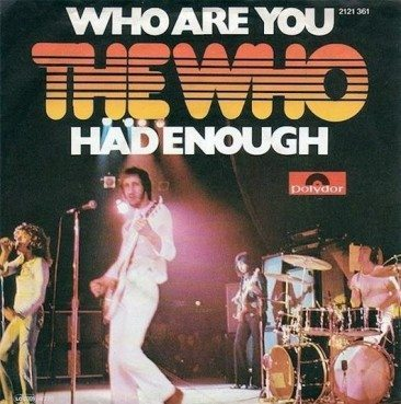 Who Are You? The Who, That's Who