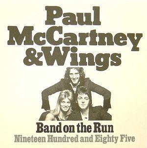 Band On The Run single