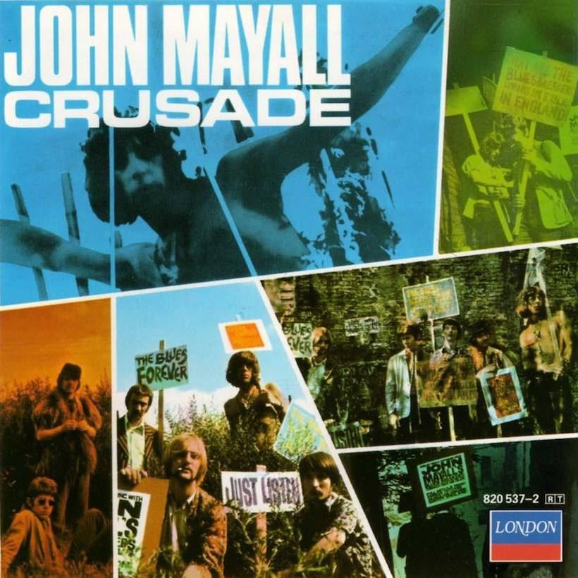 John Mayall artwork: UMG