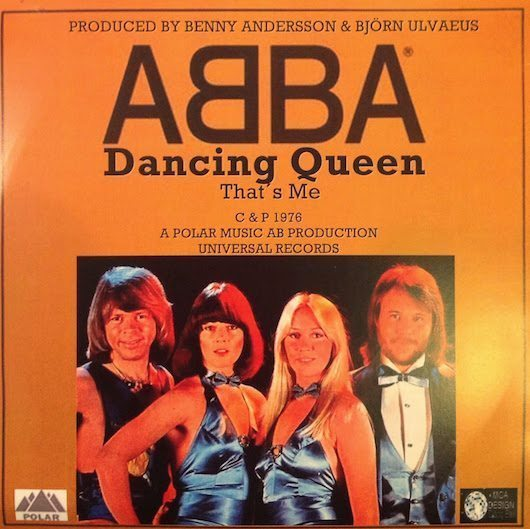 ABBA En Route To Their Only US No.1