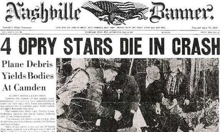 Patsy Cline headline