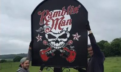 Ramblin Man Pub Sign - 530