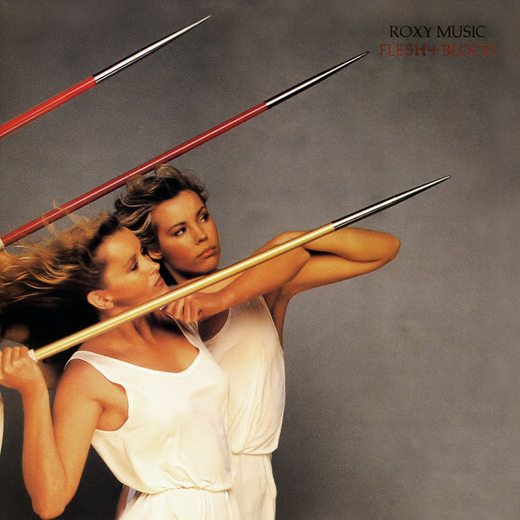 Roxy Music Flesh And Blood Album Cover web 730