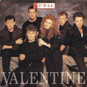 T'Pau Valentine single