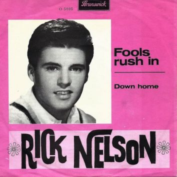 Rick Nelson Fools Rush In
