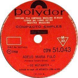 Adeus Maria Fulo, B-side to A Minha Menina