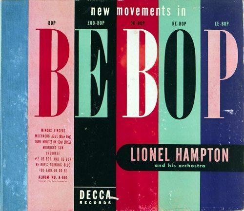New Movements In Be-Bop - Lionel Hampton cover