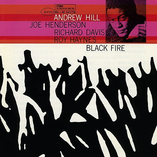 Black Fire - Andrew Hill cover