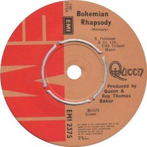 Bohemian Rhapsody Label