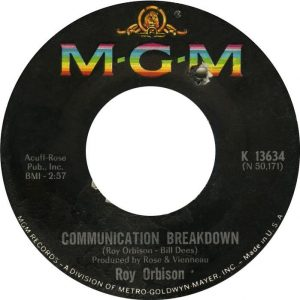 Communication Breakdown Label