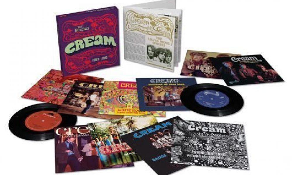 Cream Singles 1967-1970 Packshot