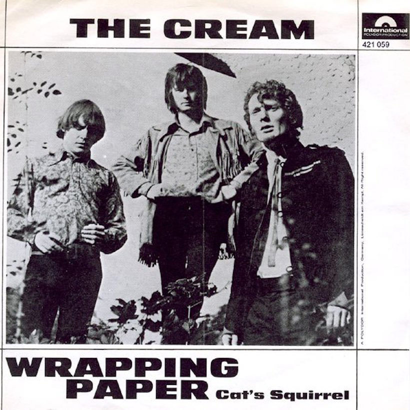 Cream Wrapping Paper