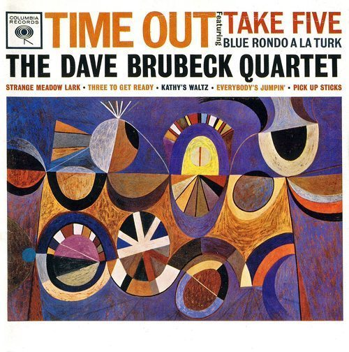 Time Out - The Dave Brubeck Quartet cover