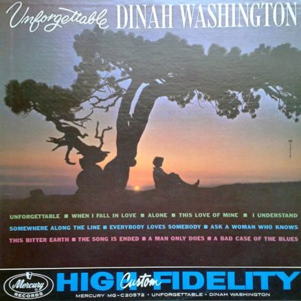 Dinah Washington Unforgettable album