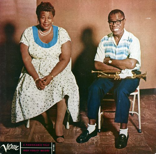 Ella and Louis - Ella Fitzgerald and Louis Armstrong cover