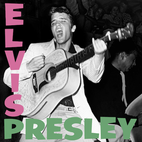 Elvis Presley album cover