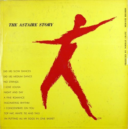 The Astaire Story - Fred Astaire cover