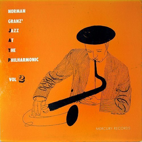 Jazz At The Philharmonic Volume 2 - Norman Granz cover