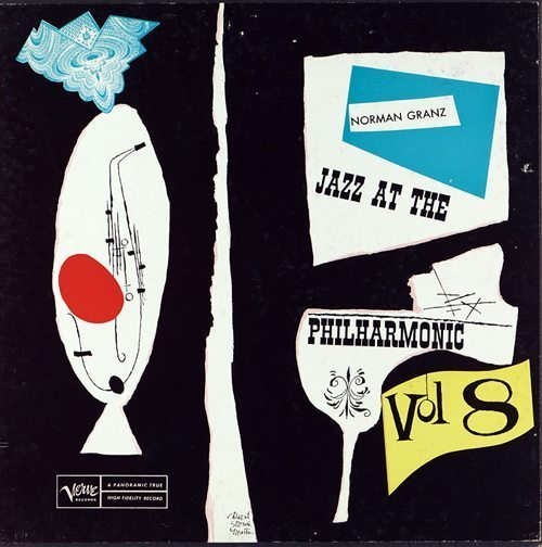 Jazz At The Philharmonic Volume 8 - Norman Granz cover