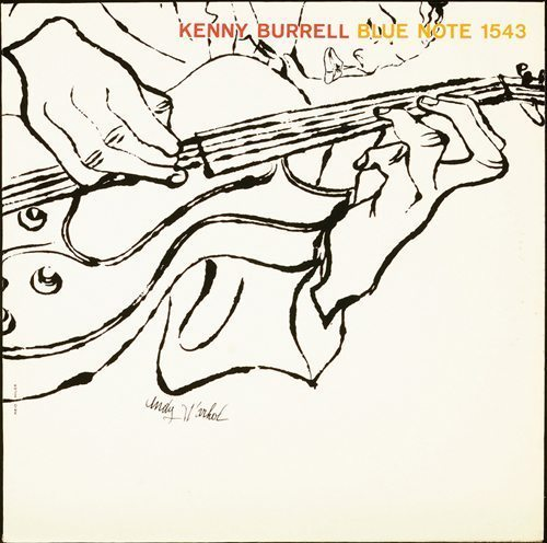 Kenny Burrell self titled album cover