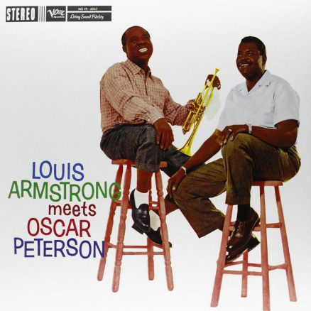 Louis Armstrong Meets Oscar Peterson album cover web optimisd 820
