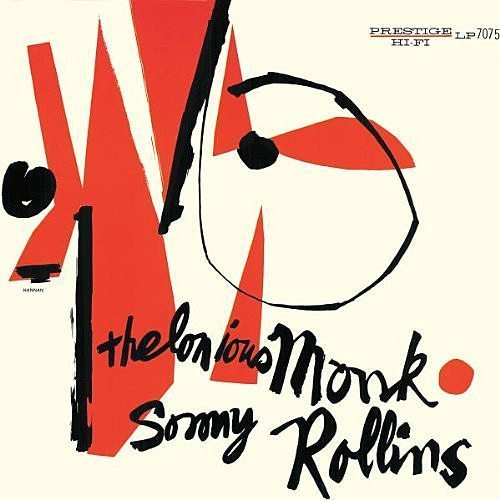 Thelonious Monk and Sonny Rollins self titled album cover