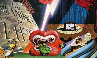 Monty Python albums collage 1000