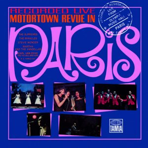 Motown Live In Paris, 1965 Artwork