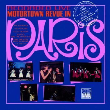 Motown Live In Paris, 1965 Artwork