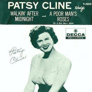 Patsy Cline Walkin' After Midnight single