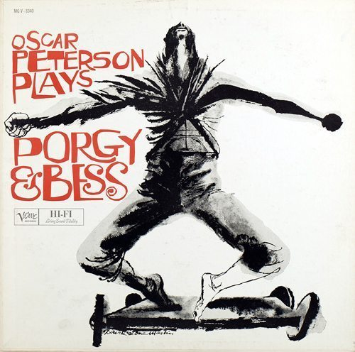 Oscar Peterson Plays Porgy & Bess Oscar Peterson cover