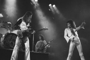 Queen at Hammersmith Odeon, 1975