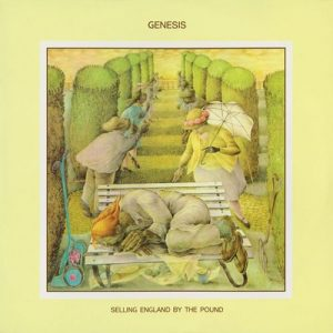 Genesis - Selling England By The Pound Cover