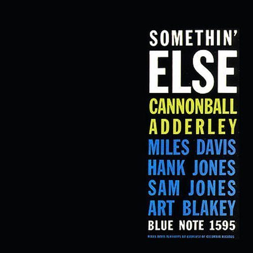 Somethin' Else Cannonball Adderley cover