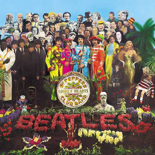 The Beatles - Sgt. Pepper's Lonely Hearts Club Band album cover