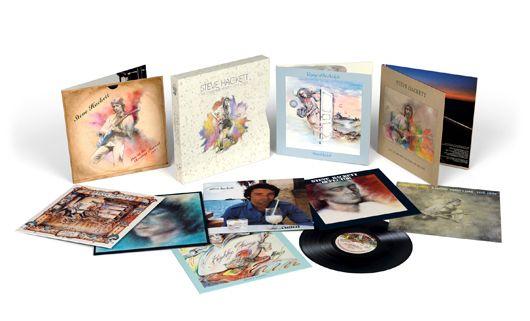 Steve Hackett The Charisma Years Vinyl Box Set (2016)